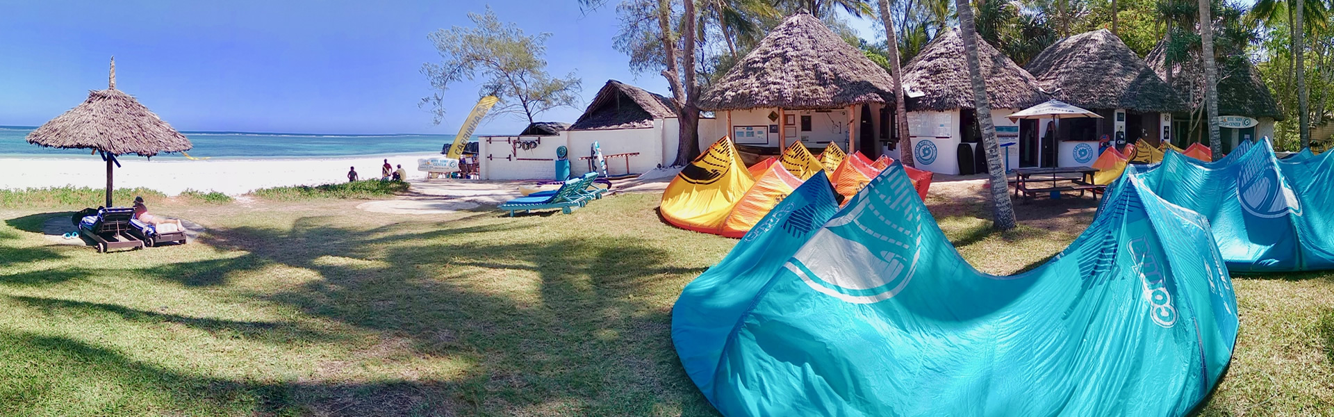 Quest Kiteboarding - IKO kitesurf school in Diani beach Kenya